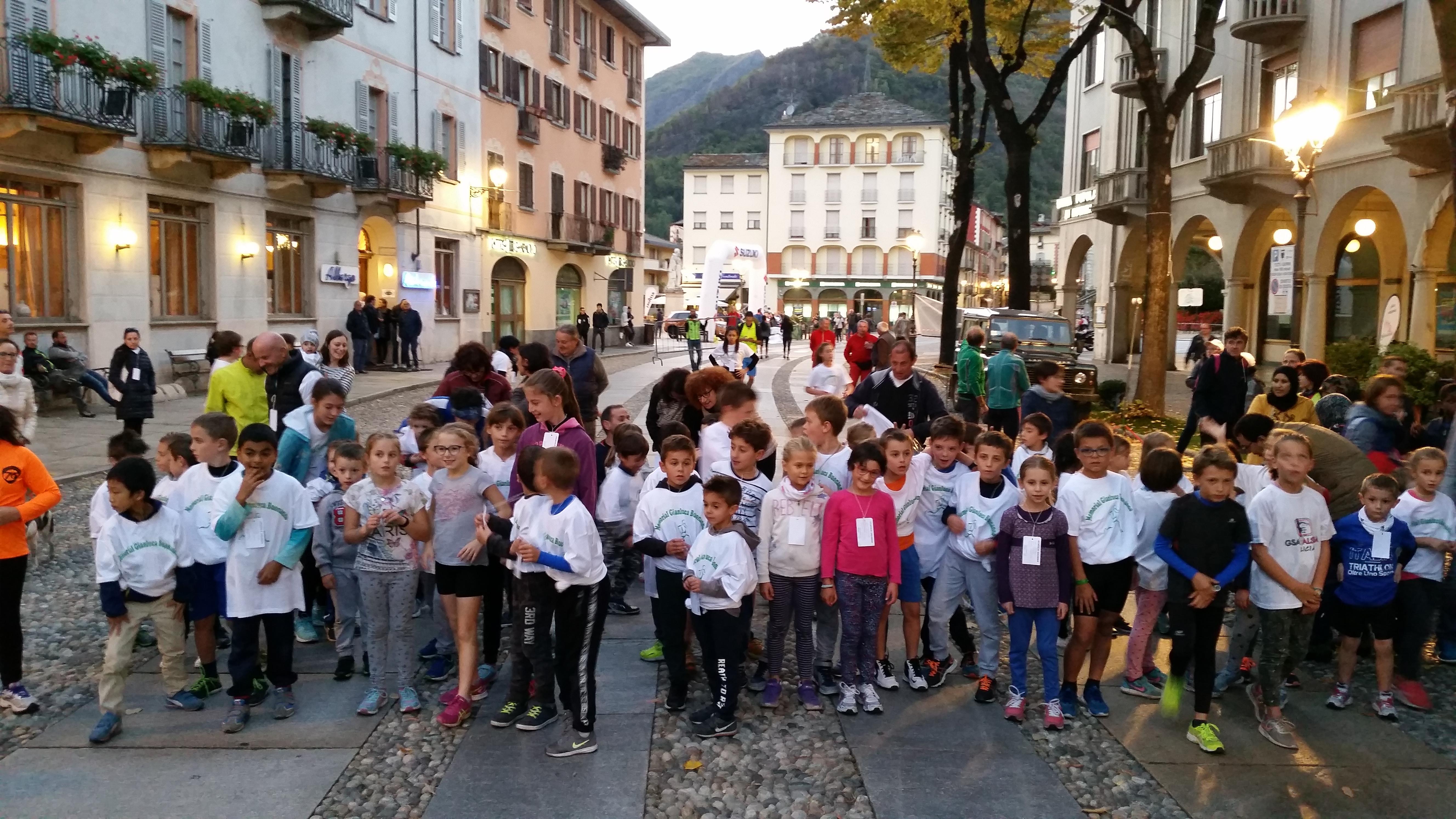 2017.10.06 Varallo memorial Buonanno partenza bambini