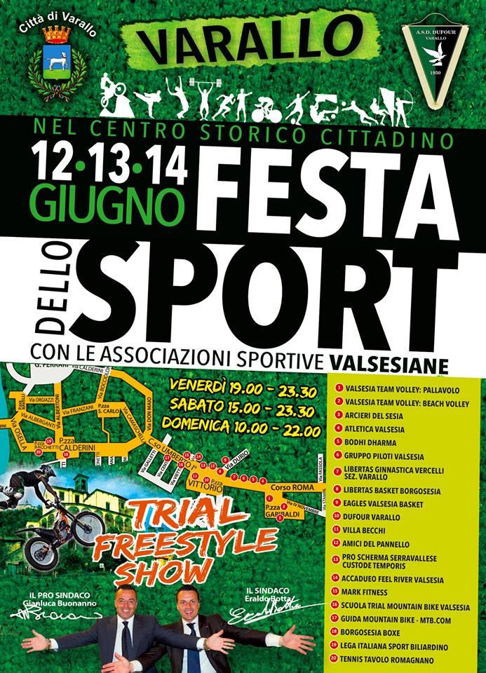 Varallo festa dello sport 2015